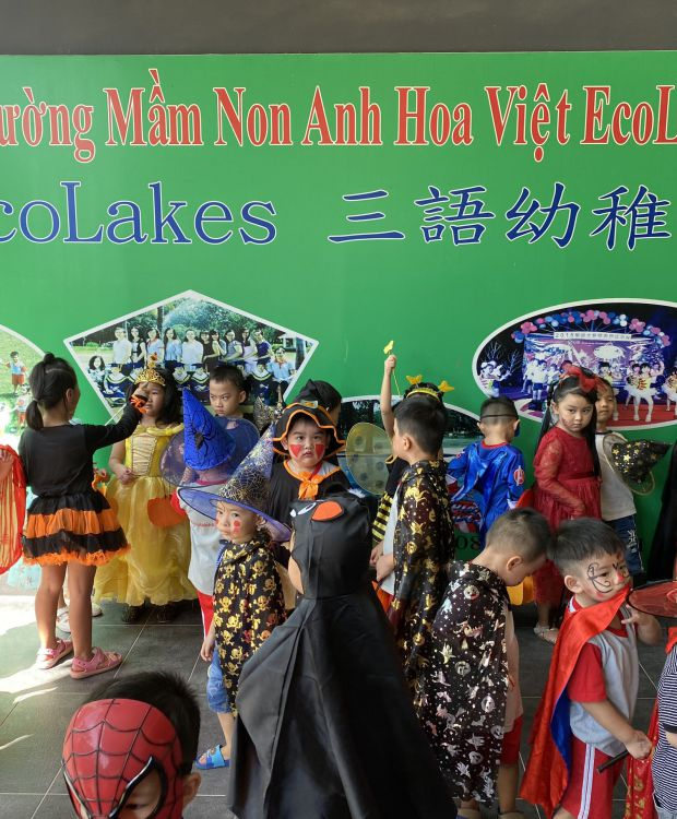 HALLOWEEN TRƯỜNG MẦM NON ANH HOA VIỆT ECOLAKES
